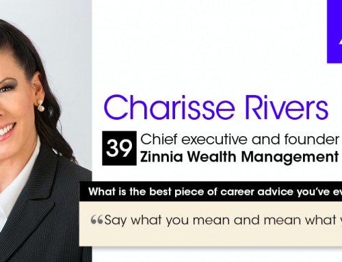 Charisse is an Investment News, 40 Under 40 Winner!